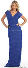 SALE NEW MODERN SISTER MOTHER of the BRIDE GROOM DRESS EVENING LONG CRUISE GOWNS