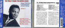 Philly Sound You Never Heard Vol.1 CD-Songs Of Morris Bailey-JAPANESE LINER NOTE