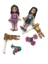 Olivia Emma Lego Friends Lot of 50 bricks, flowers, flags and pieces Faries fary
