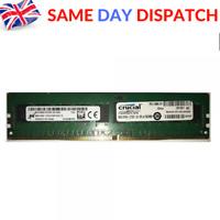 MICRON 8GB 1x 8GB 1Rx4 PC4-2133P-RCP-10 Server Memory RAM 288 Pin DDR4 ECC RAM