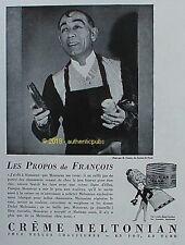 PUBLICITE CREME MELTONIAN CIRAGE CHAUSSURES MR DANDY CASINO DE PARIS DE 1930 AD