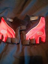 Mens Large Crane Fingerless Cycling Gloves