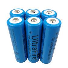 6 PCS 18650 5000mAh 3.7V Li-ion Batterie Rechargeable Battery for Flashlight LED