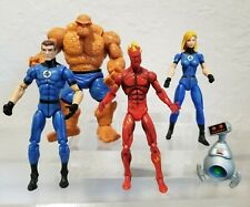 marvel universe 3.75 Mr Fantastic Thing invisible woman Fantastic 4 Lot torch
