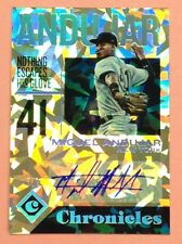 #2/5! Miguel Andujar Auto RC 2018 Panini Rookie Cracked Ice Refractor Autograph