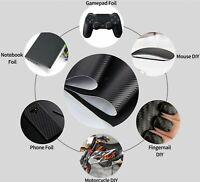 9EUR/m²  - 3D Carbon Folie schwarz PVC 30x150cm blasenfrei, selbstklebend