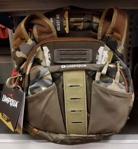 NEW UMPQUA ZS2 OVERLOOK 500 FLY FISHING CHEST PACK KIT IN CAMO COLOR--IN STOCK!