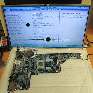 HP Pavilion G6-1000 Working AMD Laptop Motherboard 649948-001 (2001) ** read **