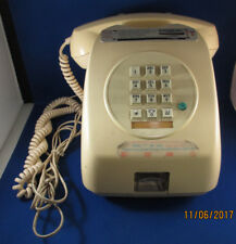 Vintage Coin Operated Model Tongya  Desk Top Pay Phone / Telephone