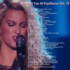 Promo Compilation DVD, Billboard Top 40+ Pop/Dance Hits, Oct. 2015 ONLY on Ebay!