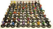 Heroclix Starter Pack - 100 Random Figures + Stat-Cards