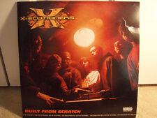 X-ECUTIONERS - BUILT FROM SCRATCH (VINYL 2LP) 2002!! RARE!! ROB SWIFT + RAIDA  ♫