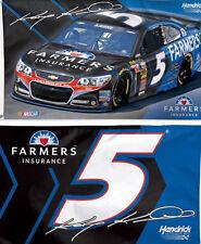Kasey Kahne #5 Farmers Insurance 3 X 5 2 Sided NASCAR Flag WinCraft
