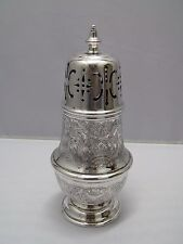 Barker and Ellis England Silver Plate Sugar Caster Muffineer