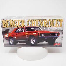 GMP 1/18 G1800325 Berger Chevrolet 69 427 SS Camaro
