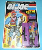 *RECARDED* 1986 GI Joe Zandar v1 Figure Complete Sealed *CUSTOM File Card Back
