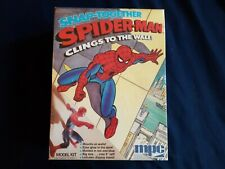 VINTAGE 1978 MPC SNAP TOGETHER SPIDERMAN CLINGS TO THE WALL MISB