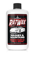 MATTE PAINT CAR SOAP - No Shine enhancers safe for frozen paint BMW, Mercedes