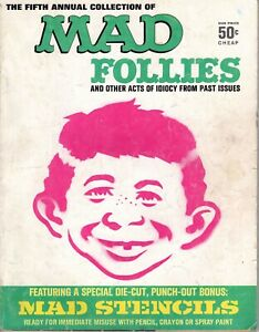 Mad Follies #5 1967, No Stencils