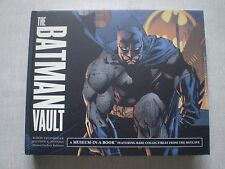The Batman Vault A Museum In A Book Rare Collectibles from the Batcave MINT Cond
