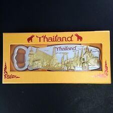 Thai temple elephant bottle opener & magnet refrigerator metal gift souvenir