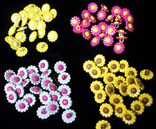 """Wholesale Novelty Daisy Shank Buttons, 9/16"""" diam., 200 count"""