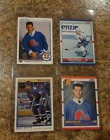 (4) Owen Nolan 1990-91 OPC Premier Upper Deck Score Rookie card lot RC Nordiques