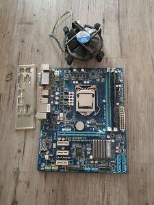 Mainboard CPU Bundle, Gigabyte Ga-h61m-D2-B3, Intel Core i5 2400, 4 GB Ram