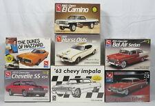 Lot 7 AMT Model Car Kits 1:25 Hurst Olds Dukes Hazard Charger Belvedere NEW