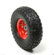 "10"" Flat Free Tire for Hand Truck Tire dolly with 5/8"" ID Bearing Filled w/ foam"