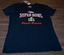 9f2daafae Women s Teen Denver Broncos Super Bowl 50 NFL Football T-shirt Large