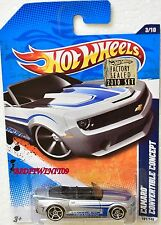 HOT WHEELS 2010 PERFORMANCE CAMARO CONVERTIBLE CONCEPT #3/10 FACTORY SEALED