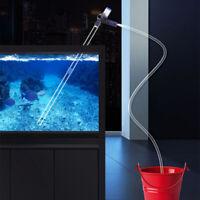 Gravel Cleaner Aquarium Fish Tank Siphon Syphon Water Cleaning Kit Vacuum Pump