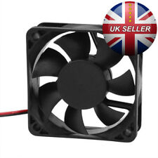 60mm x 15mm DC 12V 2Pin Cooling Fan for PC Computer Case CPU Cooler -UK DISPATCH