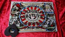 Wooden Ouija Board & Planchette Fortune Teller Golden Seance spirit ghost hunt