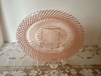 VINTAGE MISS AMERICA PINK DEPRESSION GLASS OVAL VEGETABLE BOWL~MINTY~