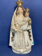 ND de bonsecours en faience LOT 43