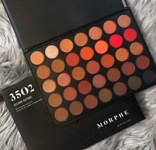 Morphe 35O2 SECOND NATURE EYESHADOW PALETTE Brushes 3502 Colour Eyeshadow Palett