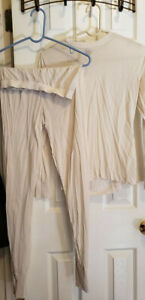 100% Silk Women's Columbia Long Underwear Medium