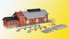 Kibri 39462 H0 Güterhalle mit Lademaß