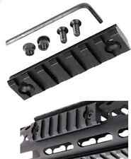 1 PCS Keymod 7 Slot Picatinny/Weaver Rail Hand guard Section Aluminum 3""