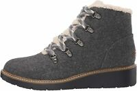 Dr. Scholl's Shoes Women's So Cozy Bootie Ankle Boot, Grey, Size 10.0 QOeq