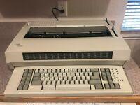 IBM Wheelwriter 1500 by Lexmark Electronic Typewriter No Shipping - Local Pickup