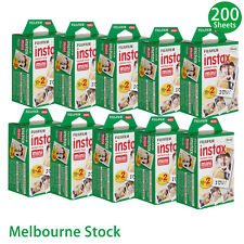 200 Sheet Fujifilm Instax Mini Film Fuji instant photos 7s 8 25 90 Polaroid 300