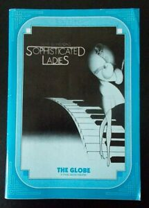 Sophisticated Ladies programme Globe Theatre 1992 Jacqui Boatswain Sergio Covino