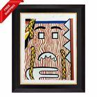 Roy Lichtenstein - Head with Braids, Original Hand Signed Print with COA