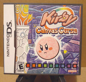 Kirby Canvas Curse Nintendo DS 2005 Game - Case, Game, Manual, Safety Booklet