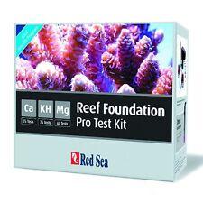 Mar Rojo kit de prueba de arrecife de Fundación Pro RCP-Marine arrecife Calcio Magnesio KH