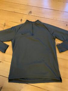 Nike Laufshirt langarm Dri-Fit Gr. M