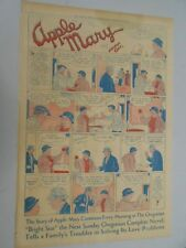 Sunday Comics- Feb.17th 1935- The Oregonian- Apple Mary- Lena Pry- Jane Arden